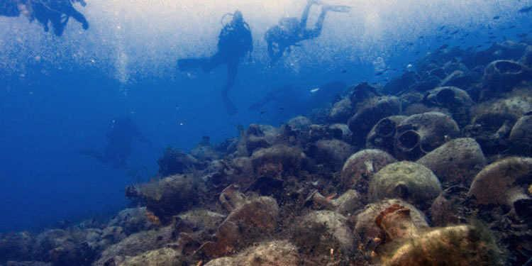 Shipwreck Peristera to become Underwater Museum