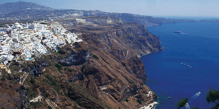 Santorini & Corfu. The top 25 destinations for September holidays.