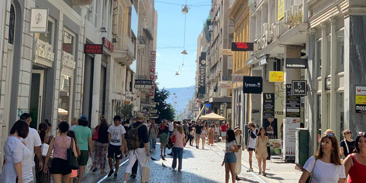 Athens a shopping Mecca